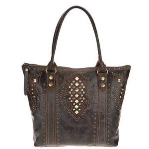 FRYE Deco Studded Bag NWT